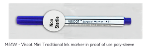 1451 - proof of use skin marker surgical site infection control disposable hospital products
